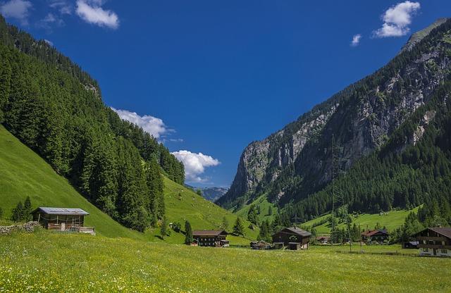 Österreich hat wunderschöne Bauernhöfe